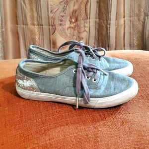 Ladies keds style levi's tennis shoes